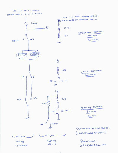 chevy p 30 auto parking brake (welcome to our nightmare) dodge d100 wiring diagram click for a larger image