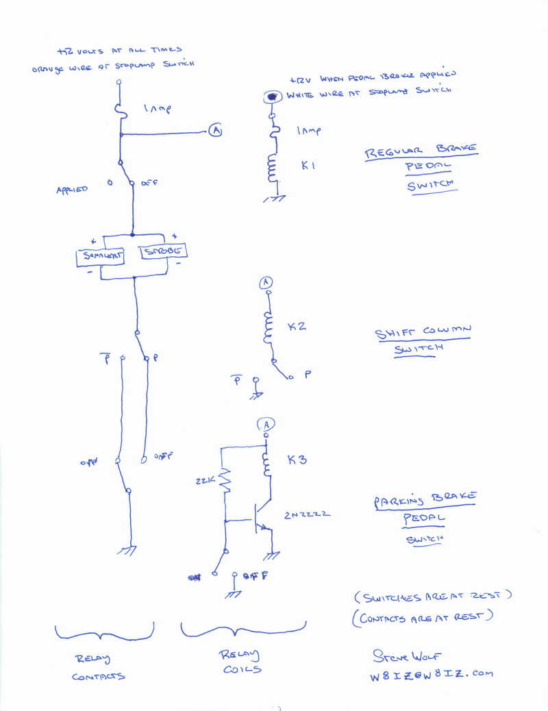 chevy p 30 auto parking brake (welcome to our nightmare) Wiring Diagram 2003 Chevy Duramax first, the larger schematic you can also click on this and another, larger schematic will be provided